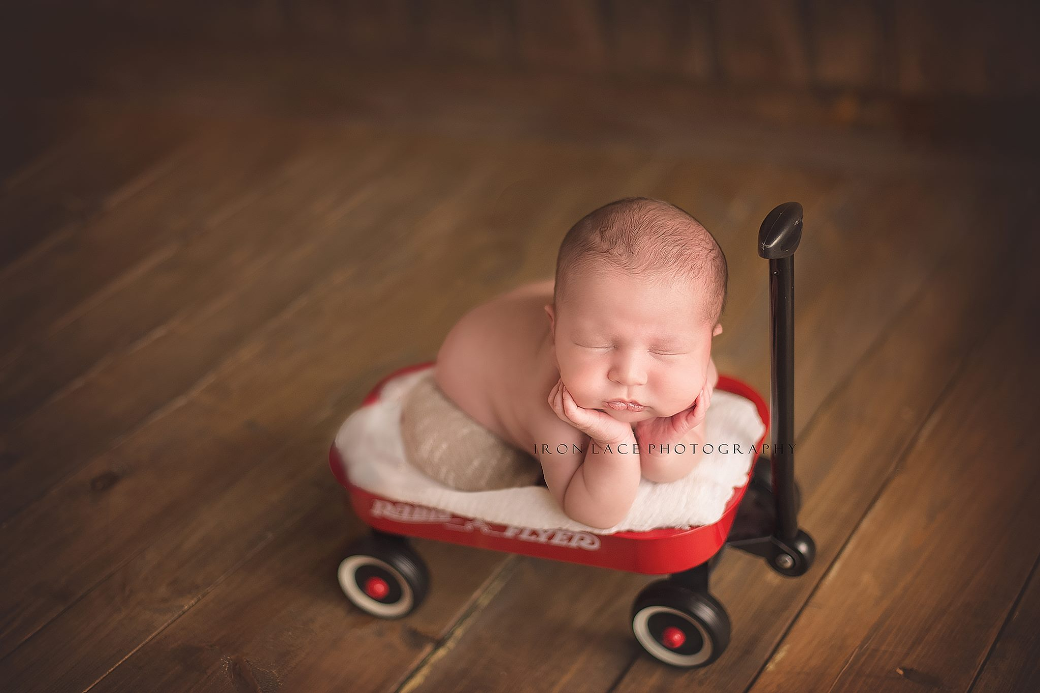 Newborn Session by Iron Lace Photography