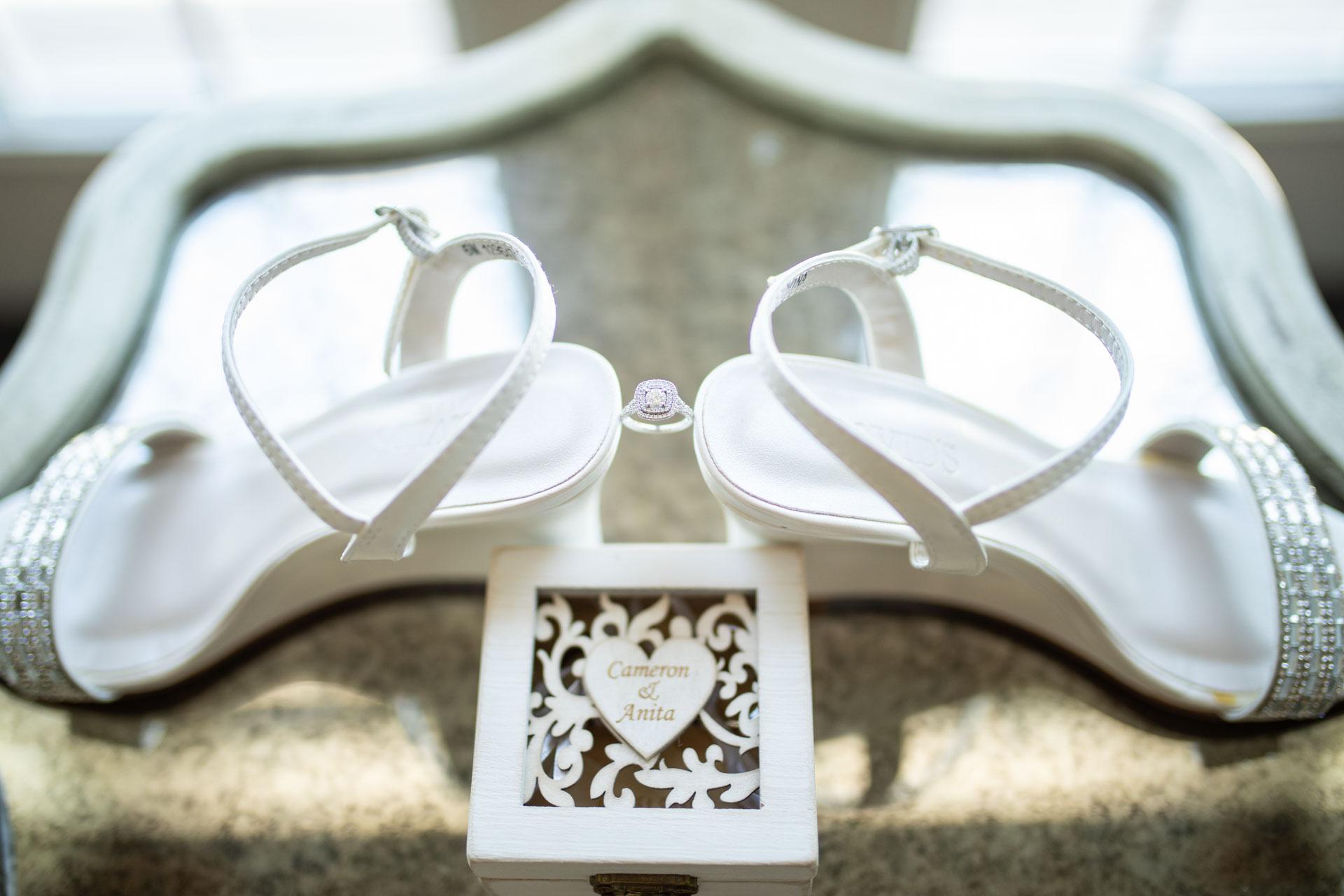 Wedding, ring box