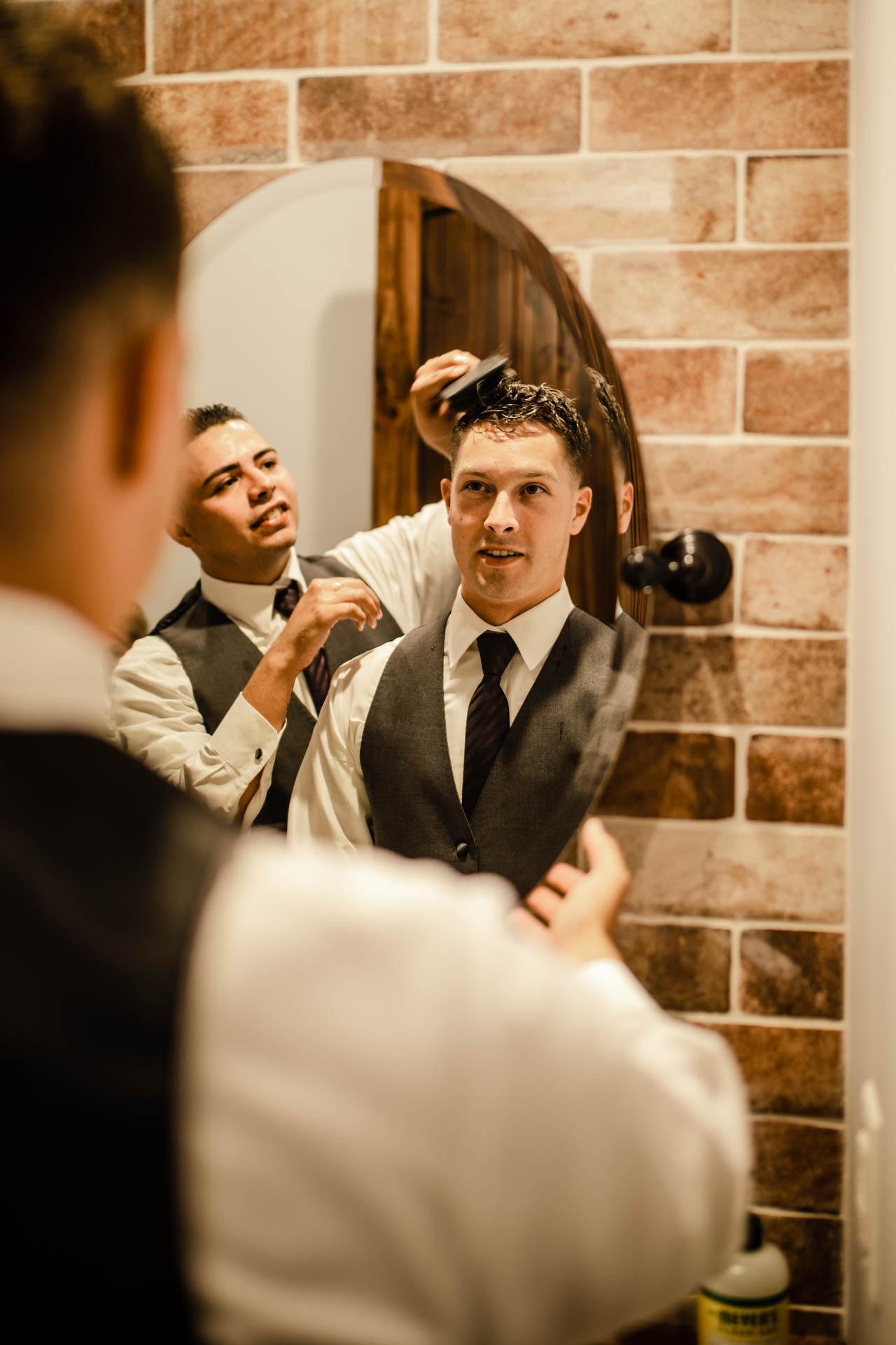 Wedding, groom